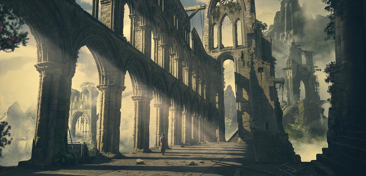 Peaceful Ruins